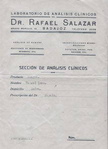Analisis antiguo. 1940 001