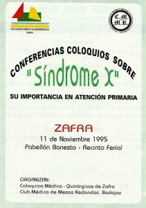 Conferencias Sindrome X
